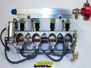 Rampa de inyectores de competición de Suzuki GSX-R